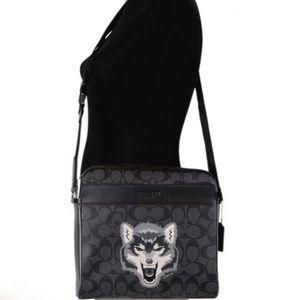 Coach Wolf Messenger Bag